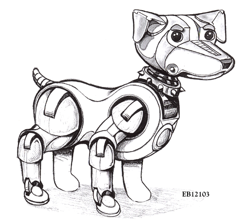 Tcs Bud Robot Dog Designs